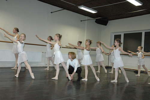 Zitas errs baleta studija